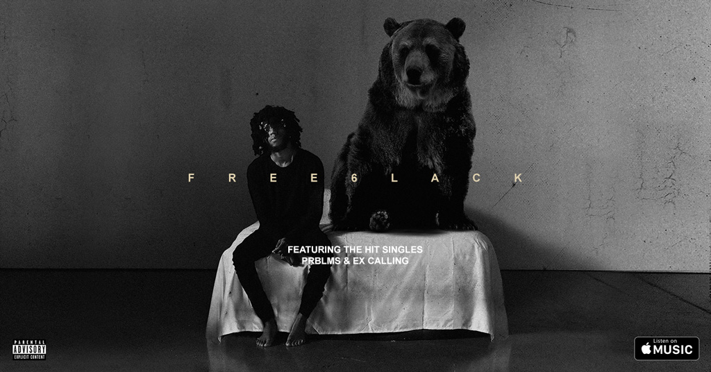 6LACK releases dark and moody Hip Hop album 'FREE6LACK.'